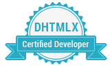 DHTMLX Certified Developer